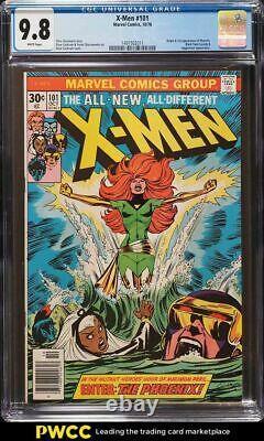 1976 Marvel Comics X-Men #101 1st Appearance Of Phoenix CGC 9.8 White Pages