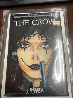 1989 Caliber The Crow #1 1st Print & Appearance White Pages