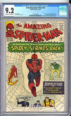 AMAZING SPIDER-MAN #19 CGC 9.2 NM- NICE OWithWHITE PAGES! REALLY NICE BOOK