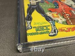 Amazing Spider-Man #129 CGC 6.0 Off-White to White Pages 1st app of the Punisher