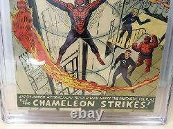Amazing Spider-Man #1 (1963) CGC 4.5 (C-2) White Pages Very Sharp This is It