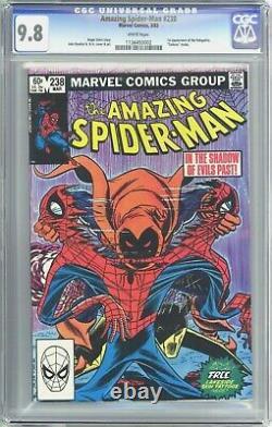 Amazing Spider-Man #238 (1983) CGC 9.8 White Pages Tattooz Inside 1st Hobgoblin