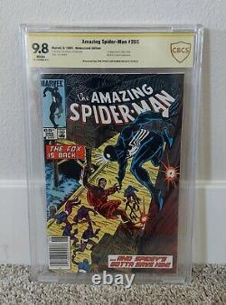 Amazing Spider-Man #265 CBCS 9.8 WHITE Pages Signed NEWSSTAND (NOT CGC)