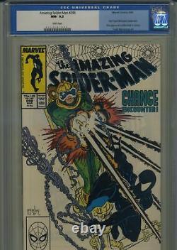 Amazing Spider-Man 298 First Todd McFarlane Spider-Man CGC 9.2 White Pages