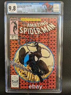 Amazing Spider-Man #300 CGC 9.8 WHITE PAGES 1st VENOM
