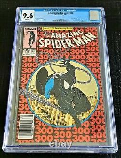 Amazing Spider-man #300 Cgc 9.6 Origin/1st Venom White Pages. Newsstand Edition