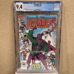 Avengers #267 CGC 9.4 White Pages NM First Appearance of The Council of Kangs
