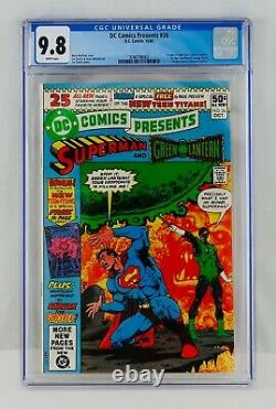 DC Comics Presents #26 CGC 9.8 White Pages First Appearance Teen Titans 1st APP