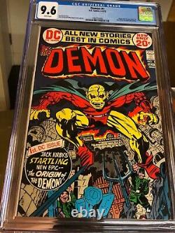 DEMON # 1 CGC 9.6 NM+ (DC 1972) White Pages 1st Appearance