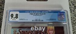 Edge of Spider-Verse # 2 1st Print CGC 9.8 (NM/M) White Pages HOT BOOK