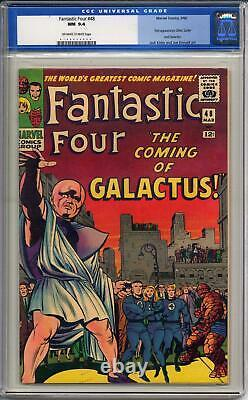 FANTASTIC FOUR #48 CGC 9.4 OFF WHITE TO WHITE PAGES 1st Appearance Silver Surfer