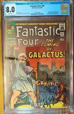 Fantastic Four 48 CGC 8.0 WHITE PAGES