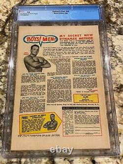Fantastic Four #49 Cgc 7.0 Ow-white Pages 1st Silver Surfer & Galactus Cover Hot