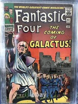 Fantastic four 48 CGC 5.5 WHITE PAGES