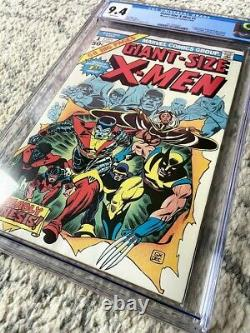 GIANT SIZE X-MEN #1 CGC 9.4 Bronze Age KEY 1975 Comic Book GSX 1 WHITE PAGES