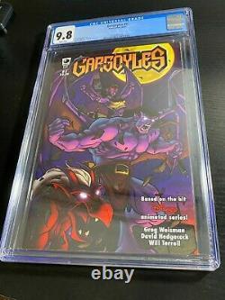 Gargoyles #1 White Pages 2006 SCAREC CGC 9.8