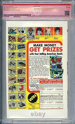 Giant Size X-Men #1 CBCS 9.4 WHITE Pages signed by Chris Claremont not CGC