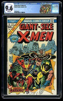 Giant-Size X-Men #1 CGC NM+ 9.6 White Pages