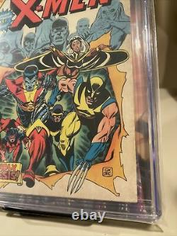 Giant Size X-men 1 Cgc 6.0 White Pages 1st Storm, Colossus, Nightcrawler 1975