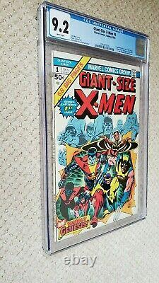 Giant Size X-men #1 Cgc 9.2 White Pages 1st New X-men, Storm, 2nd Full Wolverine