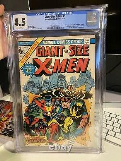 Giant-size X-men #1 Cgc 4.5 Off White Pages 1st Appearance Of The New X-men