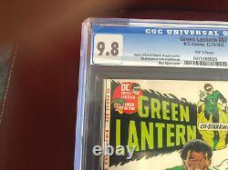 Green Lantern #87 CGC 9.8 White Pages 1st Appearance John Stewart Holy Grail