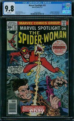 Marvel Spotlight 32 CGC 9.8 1st Spider-Woman White Pages