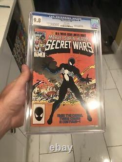 Marvel Super Heroes Secret Wars 8 CGC 9.8 White Pages