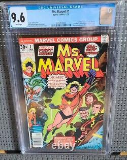 Ms Marvel 1 CGC 9.6 White Pages! 1st Carol Danvers as Ms Marvel! Auction