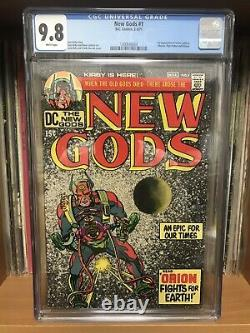NEW GODS #1 CGC 9.8 White Pages 1st App Orion JACK KIRBY ART Mister Miracle