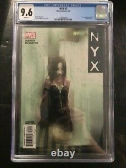 NYX 3 CGC 9.6, 1st Appearance Laura Kinney X-23! KEY ISSUE! White Pages