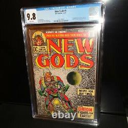 New Gods #1 CGC 9.8 White Pages 1971 DC Comics Jack Kirby, Five 1st Appearances