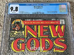 New Gods #1 CGC 9.8 White Pages 1st Orion Only 53 in 9.8 on CGC Census