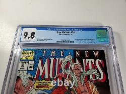 New Mutants #98 CGC 9.8 White Pages 1st appearance of Deadpool. 1991