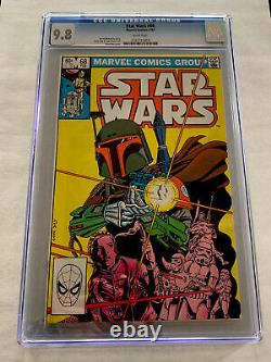 STAR WARS #68 CGC 9.8 White Pages 1st Appearance of Mandalorian