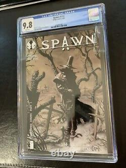 Spawn 174 cgc 9.8 white pages 1st Gunslinger Spawn universe Coming