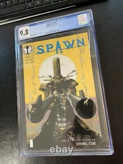 Spawn 175 cgc 9.8 white pages 2nd Appearance Gunslinger Spawn universe Coming
