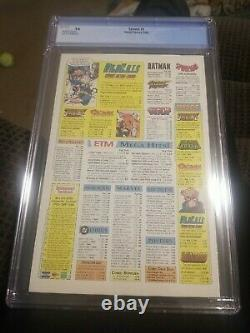 Spawn 1 Newsstand 9.8 CGC white pages! Super rare! Very hot