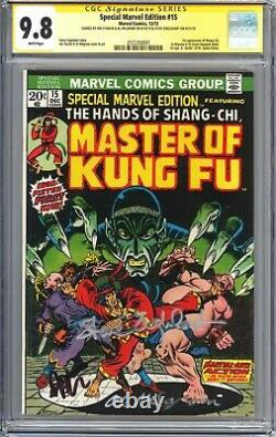 Special Marvel Edition #15 (1968) CGC SS 9.8 White Pages 1st App of Shang-Chi