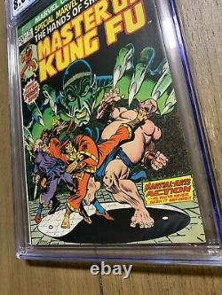 Special Marvel Edition #15 CGC 8.0 WHITE PAGES 1st appearance of SHANG CHI MCU