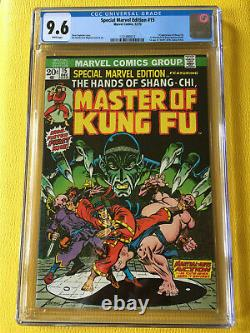 Special Marvel Edition #15 Comic Book Cgc 9.6 White Pages 1st App Shang-chi