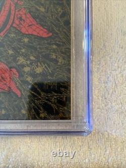 Spider-man 1 CGC 9.8 GOLD UPC NEWSSTAND WALMART RARE White pages 300 Spideman