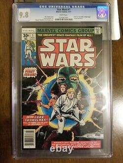 Star Wars #1 Cgc 9.8 White Pages 1977