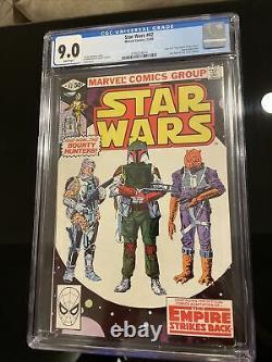Star Wars # 42 CGC 9.0 (Marvel Comics 1980) 1st App of Boba Fett White Pages