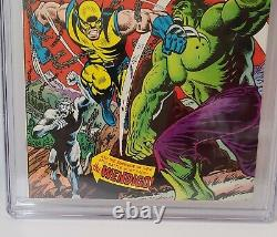 THE INCREDIBLE HULK #181 1ST APPEARANCE WOLVERINE 1974 CGC 8.0 White Pages