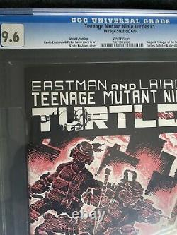 Teenage Mutant Ninja Turtles 1 2nd Print CGC 9.6 White Pages