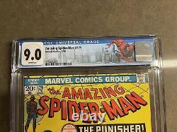The Amazing Spider-Man #129 CGC 9.0 White Pages