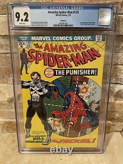 The Amazing Spider-Man #129 CGC 9.2 White Pages PEDIGREE Rare Book