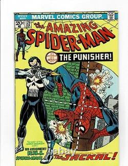The Amazing Spider-Man #129 First Punisher Formerly CGC 9.0 White Pages