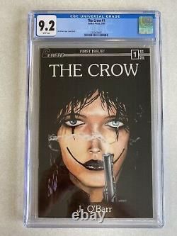 The Crow 1 CGC 9.2 White Pages 1st print! Caliber James OBarr